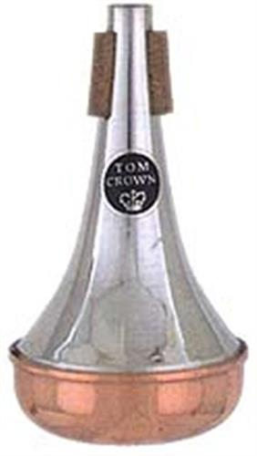 Tom Crown Sordina Trombón Bajo Straight Base Cobre