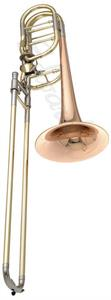 Edwards B454-E Trombón Bajo Transpositores Axial Flow Open Wrap Campana Gold Brass