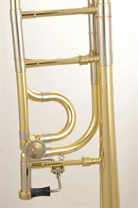 Edwards T-350CR-E Trombón Tenor Transpositor Open Wrap y Campana Yellow Brass